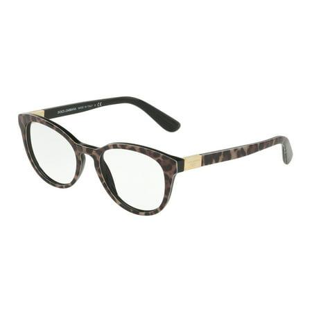 Dolce & Gabbana 0DG3268 Optical Phantos Womens Eyeglasses - Size 50 (Dolce And Gabbana Eyeglasses For Men)