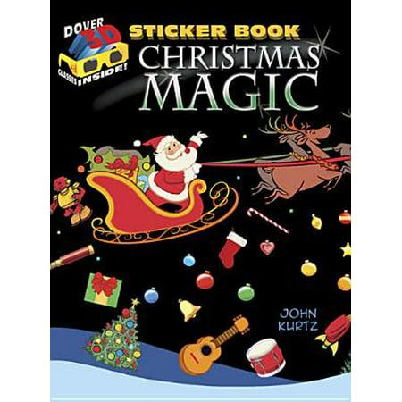 Christmas Magic Sticker Book