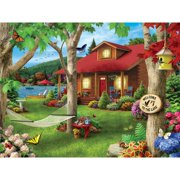 MasterPieces Lakeside Retreat 750 Piece Puzzle