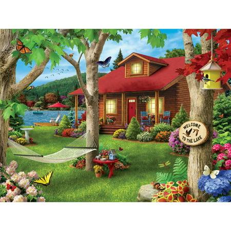 Masterpieces Lakeside Retreat 750 Piece Puzzle