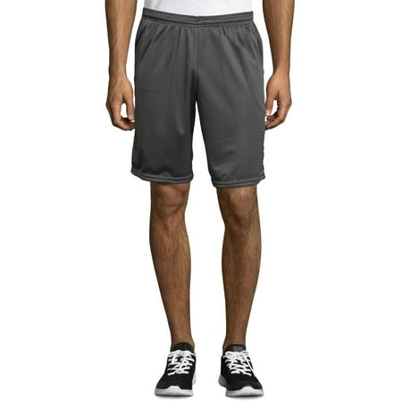 Hanes Sport Men's and Big Men's Athletic Mesh Shorts with Pockets, up to size 2XL