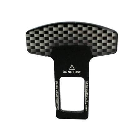 Carbon Fiber Car Safety Seat Belt Buckle Clip Car-Styling 1pcs Universal Vehicle Mounted Seat Belt Buckle Cover