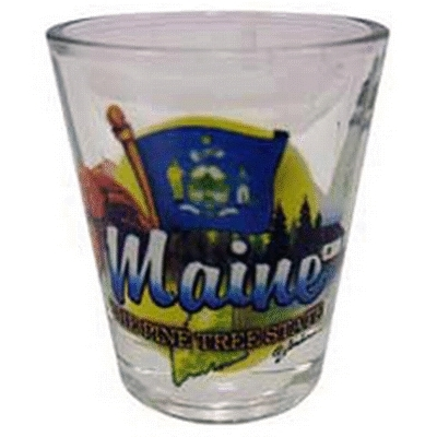 "Ddi Maine Shot Glass 2.25h X 2"" W Elements (pack Of 96)"