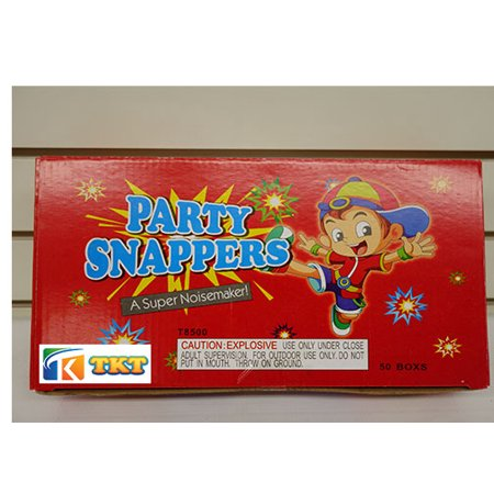 Party Snappers  (50 box x 50 pic = 2500 pic)/ Party poppers for all kind of party - Party Party