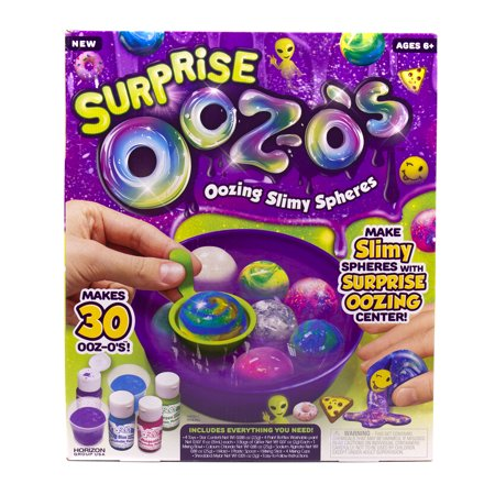 Horizon Group USA Ultimate Surprise Ooz-O's Make Your Own Oozing Slime Spheres, 1 - Oozing Wound