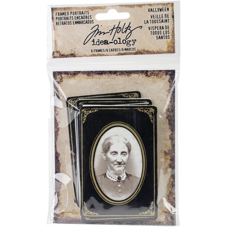 Idea-Ology Framed Portraits 6/Pkg-Halloween 2.25