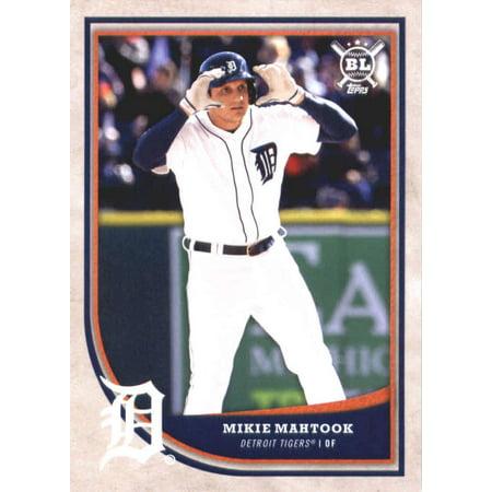 2018 Topps Big League #268 Mikie Mahtook Detroit Tigers Baseball Card - *GOTBASEBALLCARDS