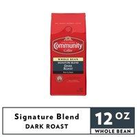 Community® Coffee Signature Blend Dark Roast Whole Bean Coffee 12 oz. Bag