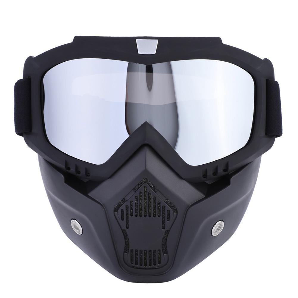 HURRISE 5 Colors Sports Ski Snowboard Cycling Face Mask with Detachable Eye Glasses,Face Mask, Ski Mask