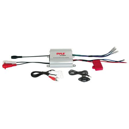 - Pyle PLMRMP1A - 2 Channel Waterproof iPod/MP3 Marine Power Amplifier
