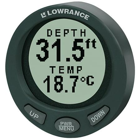 Marine Lowrance Lms (Lowrance 4794 Model LST-3800 In-Dash Digital Depth & Temp Gauge )