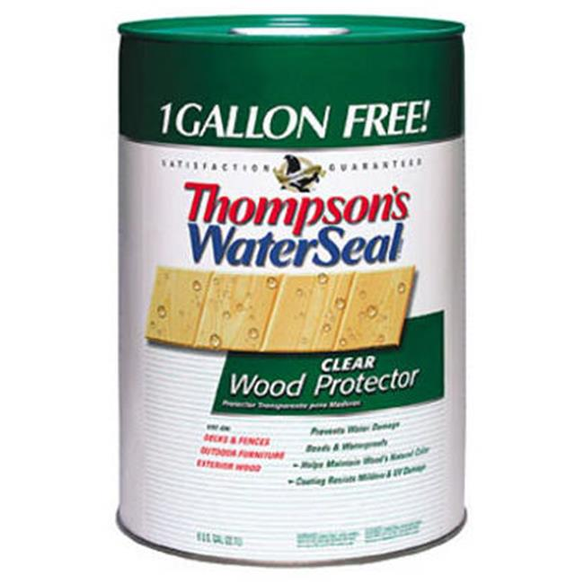Thompsons Waterseal 21806 6 Gallon Clear Wood Protector