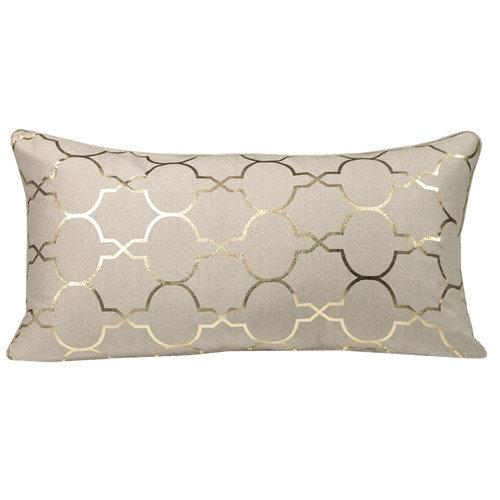 Westex Urban Loft Foil Tile Lumbar Throw Pillow