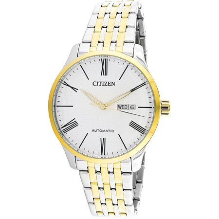 Citizen Men's NH8354-58A Silver Stainless-Steel Japanese Automatic Dress Watch ()
