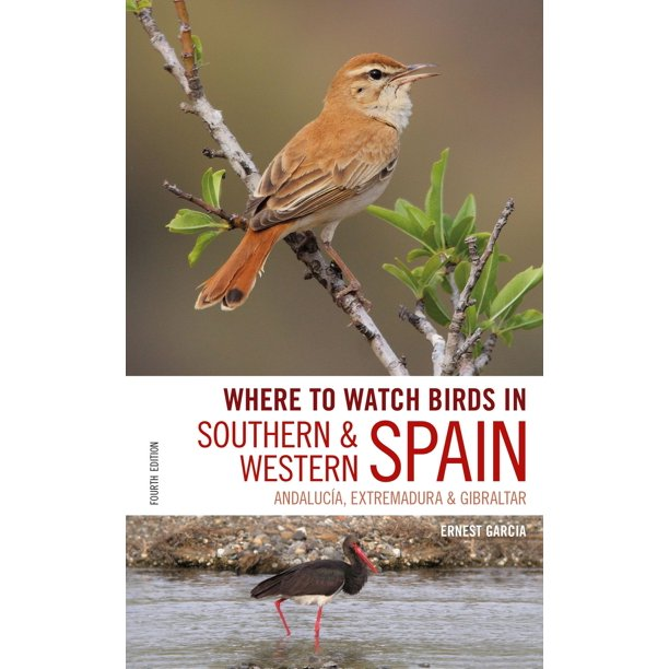 Where to Watch Birds in Southern and Western Spain - eBook