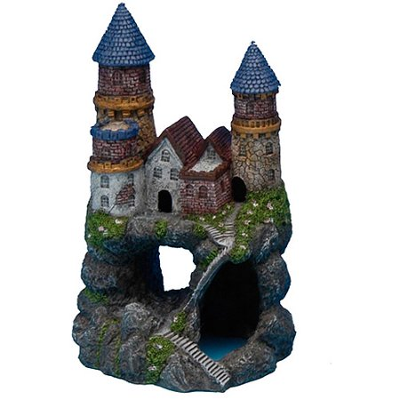 penn plax castle aquarium decoration color may vary