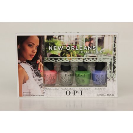 OPI Nail Lacquer-  New Orleans Mini Collection - 4pc Mini