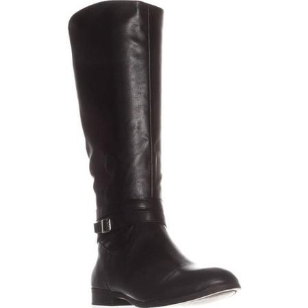 Womens SC35 Keppur Flat Riding Boots, Black (Women Riding Boots)