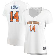 Allonzo Trier New York Knicks Fanatics Branded Women's Fast Break Player Replica Jersey - Association Edition - White