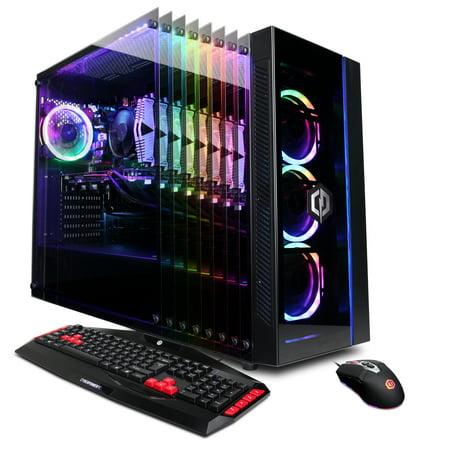 CYBERPOWERPC Gamer Master GMA8408WV2 w/ AMD Ryzen 5 3600 3.6GHz, NVIDIA GeForce RTX 2060 Super 8GB, 16GB Memory, 1TB PCI-E NVMe SSD, WiFi and Windows 10 Home 64 bit Gaming (Top 10 Super Villains Of All Time)