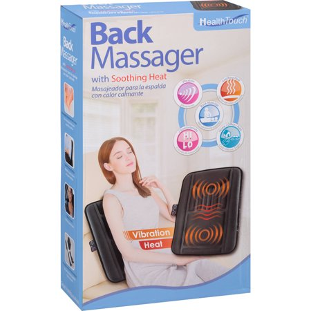 Health Touch Back Massager with Soothing Heat
