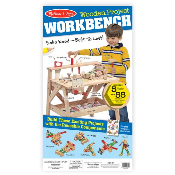 Magnificent Melissa Doug Solid Wood Project Workbench Play Building Set Squirreltailoven Fun Painted Chair Ideas Images Squirreltailovenorg