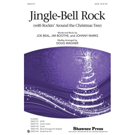 Shawnee Press Jingle-Bell Rock (with Rockin' Around the Christmas Tree) SATB arranged by Douglas