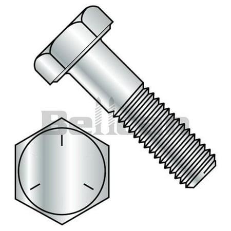 0.43-14 x 1.5 Grade 5 Coarse Thread Hex Cap Screw - Zinc - Box of 500 - image 1 de 1