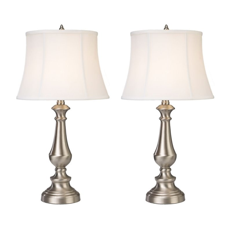 Wistaria Lighting 25'' H Table Lamp (Set of 2)