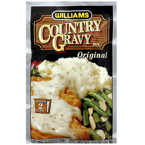 Williams Country Gravy Mix, 2.5 oz (Pack of 12)