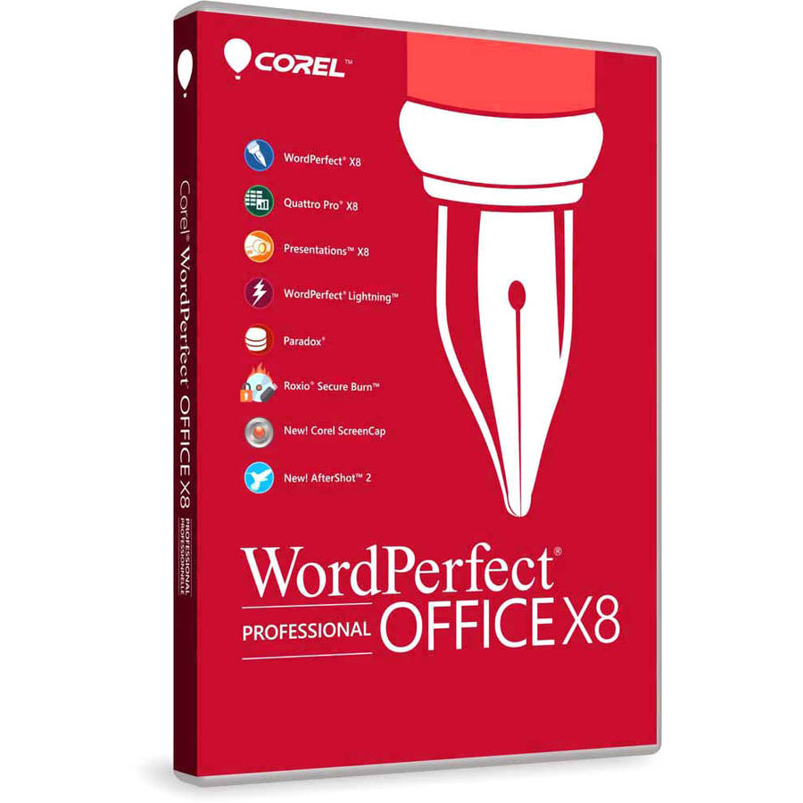 WordPerfect Office X8 Upgrade ESD