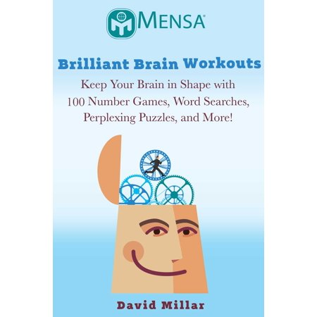 Mensa's® Brilliant Brain Workouts : Keep Your Brain in Shape with 100 Number Games, Word Searches, Perplexing Puzzles, and More! - Halloween Word Search Make Your Own