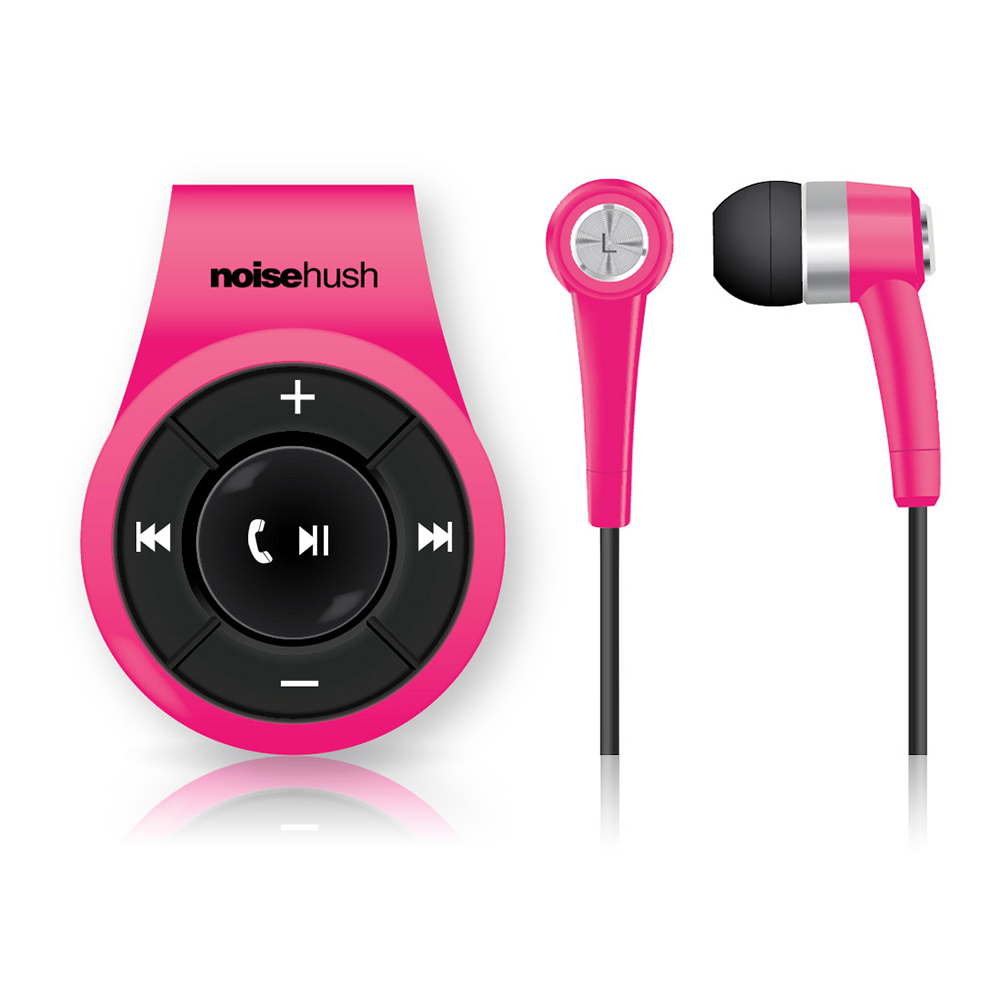 NoiseHush NS560 Clip-on Bluetooth Dongle & Stereo Headset...