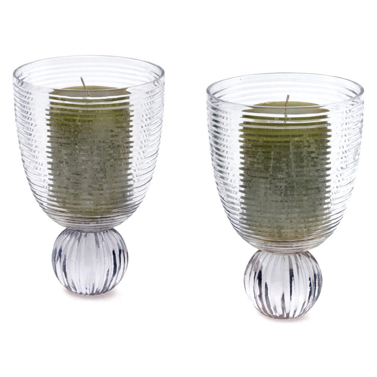 Hip Vintage Austin Hurricane Candle Holder - Set of 2