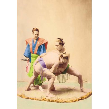 Sumo Wrestler Inflatable (Sumo Wrestlers Fine art canvas print (20