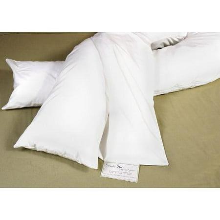 Moonlight Slumber Gray Plush Pillowcase Cover For Comfort U Total