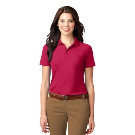 Port Authority® Ladies Stain-Resistant Polo. L510 Red Xs - image 1 of 1