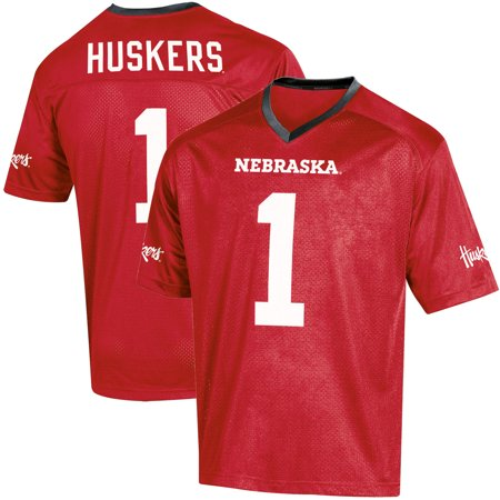 Toddler Russell Scarlet Nebraska Cornhuskers Replica Football Jersey - Nebraska Cycling Jersey