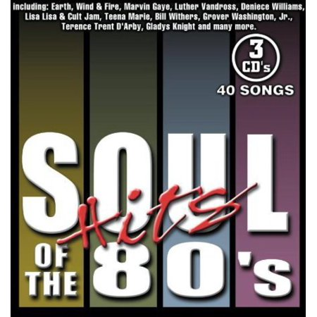 Various Artists - Soul Hits of the 80's / Various (CD) - image 1 of 1