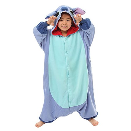 Lilo and Stitch Stitch Kigurumi for Kids - Lilo Costume Ideas