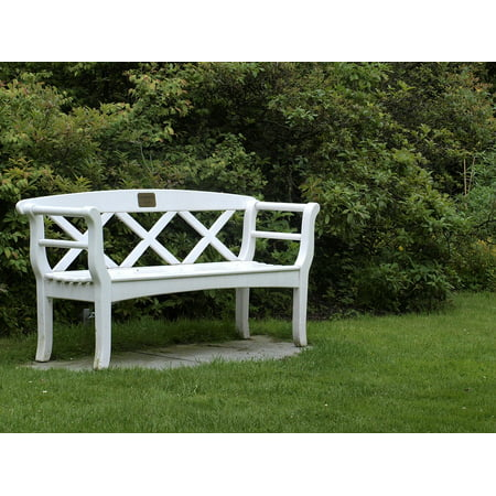 Standard Park Place - LAMINATED POSTER Bench Bank Park Bench Sit Rest Resting Place Poster Print 24 x 36