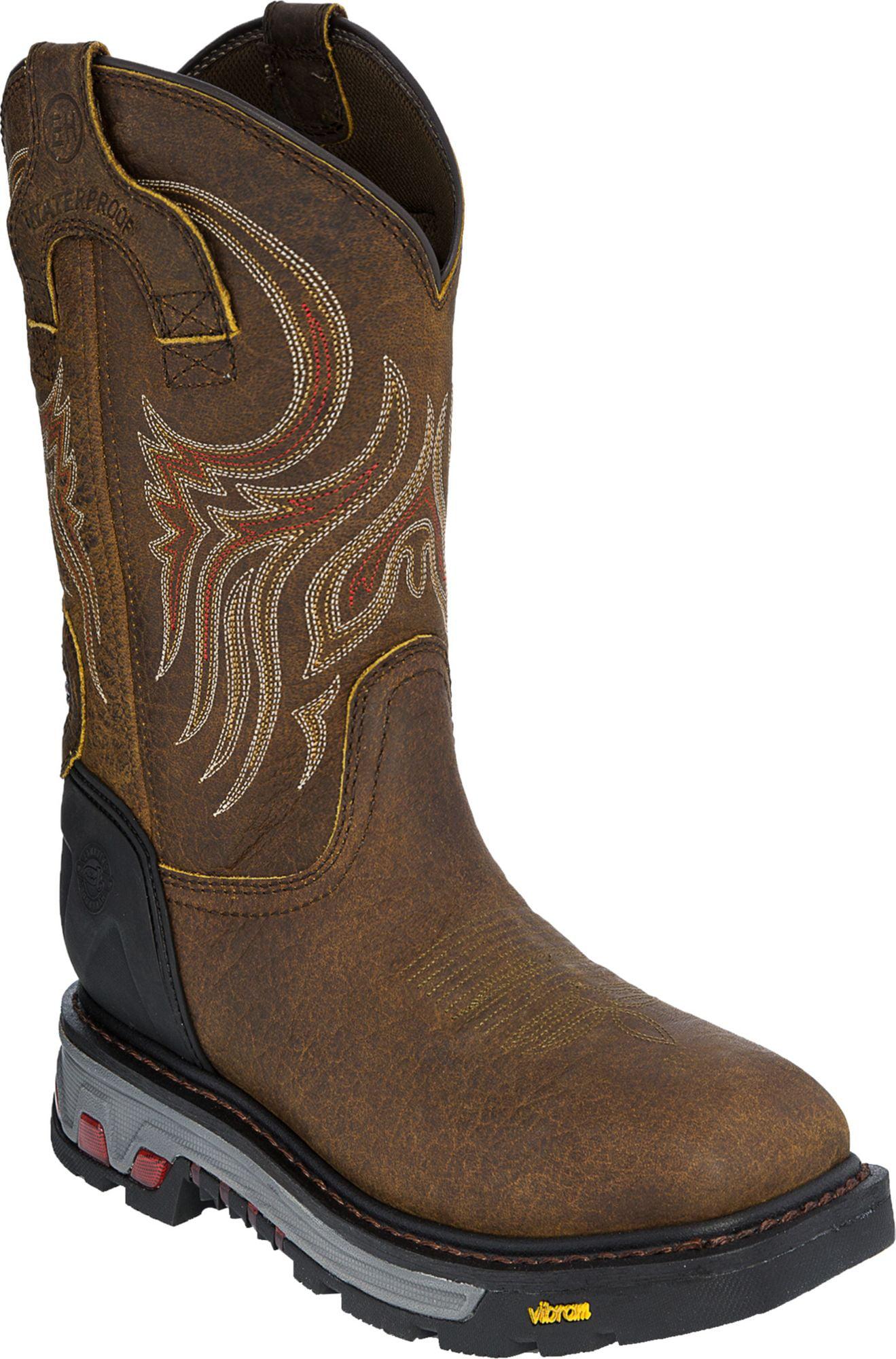 Waterproof Western Work Boots - Walmart