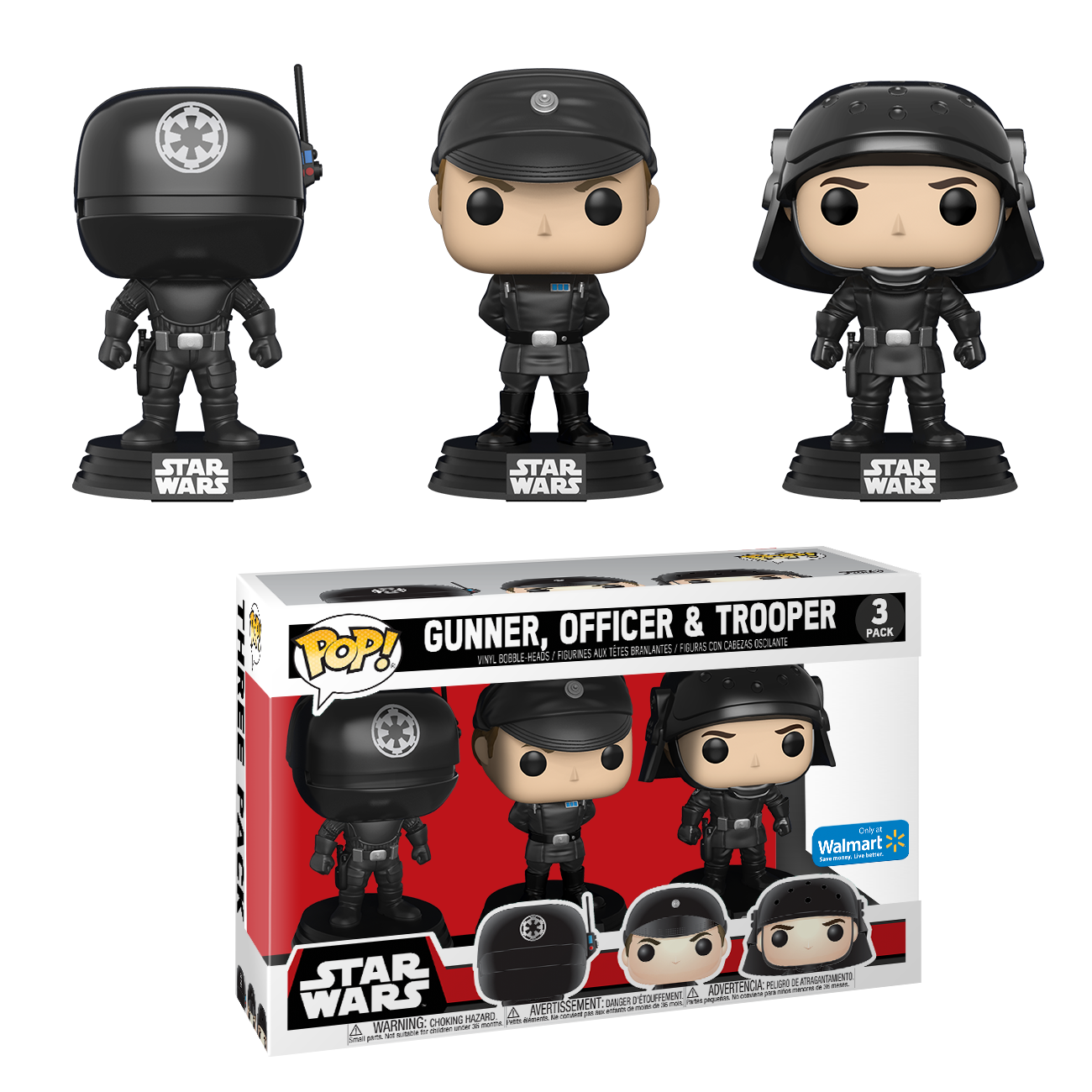 Funko POP! Star Wars: Death Star 3-Pack