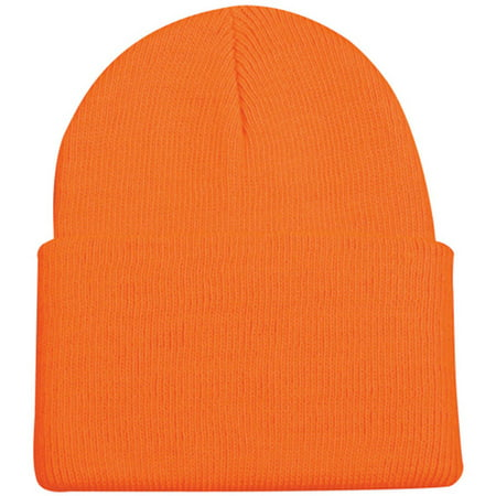 Outdoor Cap Knit Watch Cap Blaze Orange Blaze Orange Camo Cap