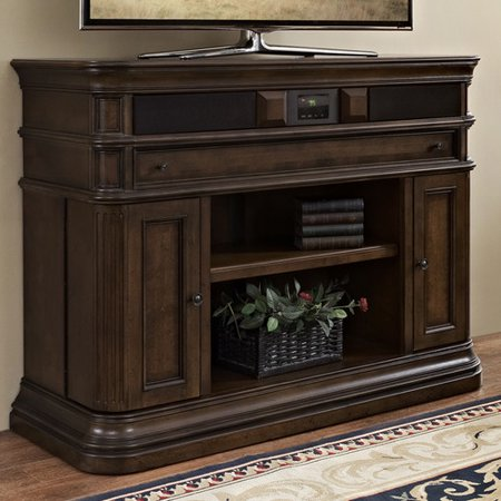 "Turnkey Products LLC Lexington 48"" Deluxe TV Stand with Built-In Surround Sound"