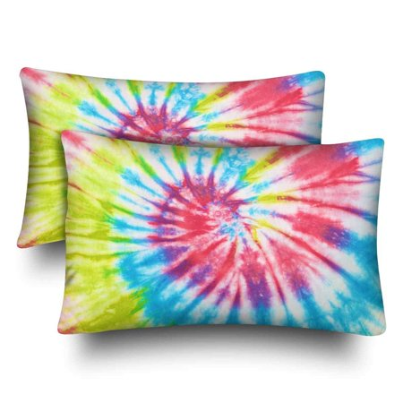 2f0cabd2d9310 GCKG Close up Tie Dye Pillow Cases Pillowcase 20x30 inches Set of 2 |  Walmart Canada