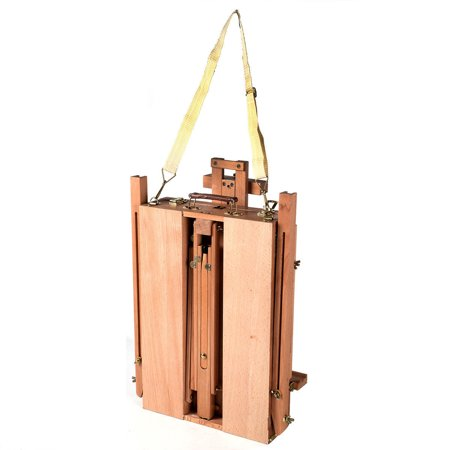 Ktaxon French Folding Durable Tripod Painting Drawing Easel Display Stand Holder Floor with Wooden Sketch Box Drawer Storage Portable Art Craft Painter Studio - image 3 of 7