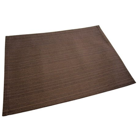 Better Homes Gardens Sp12 Bhg Woven Placemats Chocolate
