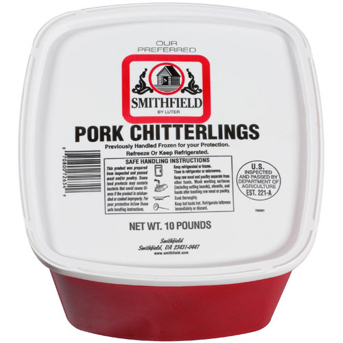Smithfield By Luter Pork Chitterlings, 10 lb