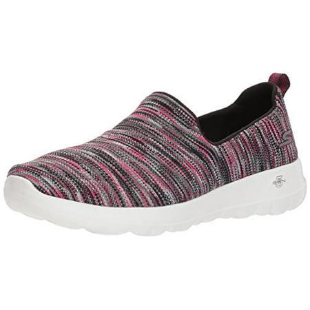 Skechers Performance Women's Go Walk Joy 15615 Sneaker,BlackPink,9 M US